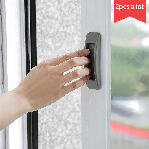 vanzlife Paste multi-purpose handle Home rectangular handle Glass door and window sliding door push-pull auxiliary door handle