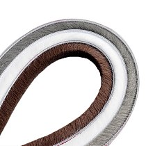 10meters Self-adhesive Sealing Wind-proof Brush Strip For Home Door Window Sound Insulation Strip Gasket