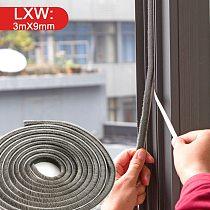 vanzlife Adhesive strip doors and Windows sealing strip toilet window glass bathroom home warm wind door insulation pad