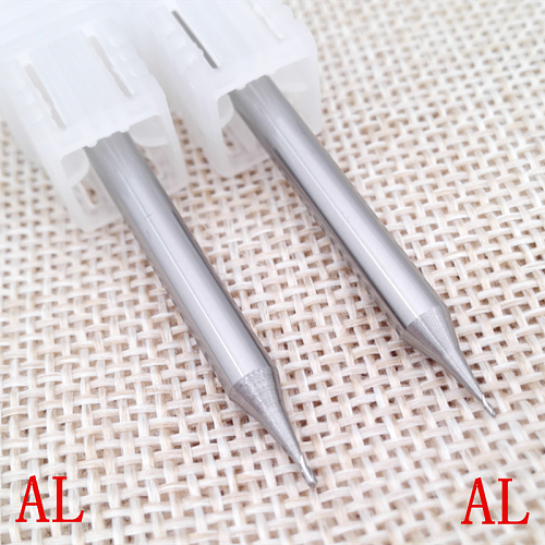 1PC R0.1 R0.15 R0.2 R0.25 R0.3 R0.35 R0.4 R0.45 Mould engraving Ball end mill cutter CNC engraving Fine grinding tools