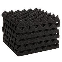 New 6pcs 30X30X4CM Soundproofing Acoustic Foam Tiles Noise Sound-Absorbing Sound Treatment Studio Room Absorption Tiles  foam