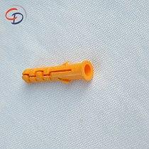 200pcs Plastic expansion pipe M6*30mm M8*40mm rubber plug plastic pipe nylon column expansion screw anchor plug wall plugs