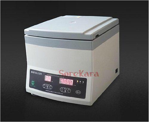 220V 300-4000RPM 12x20ml Tubes 80-2B Lab Centrifuge Machine Timer Digital Display