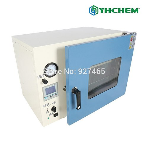 YHChem Electrical Vacuum Drying Oven DZF-6020 Stainless Steel Digital Display 2 Stainless Steel Plates