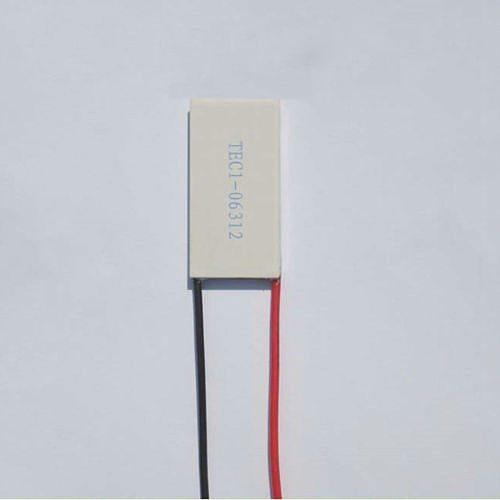 20x40x3mm 12A 7.43V 50W TEC1-06312 Thermoelectric Cooler Peltier Heatsink