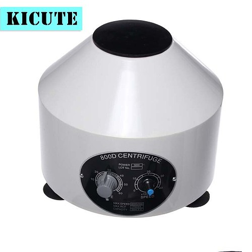 2018 New Mini 4000RPM Electric Centrifuge Machine Desktop Lab Centrifuge Lower-speed Centrifugal With Timer