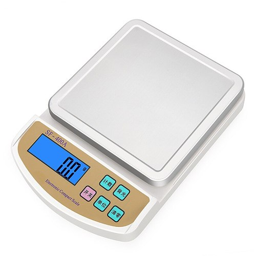 Rechargeable kitchen electronic scale 5kg electronic weighing platform scale 0.1g food baking gram scale balance weighing and we