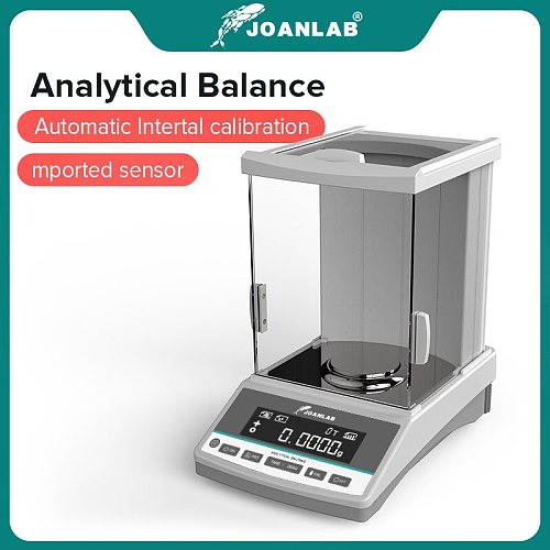 Laboratory Scales Analytical Balance Digital Microbalance Precision Electronic Balance Scale 120g 220g Range 0.0001g Resolution