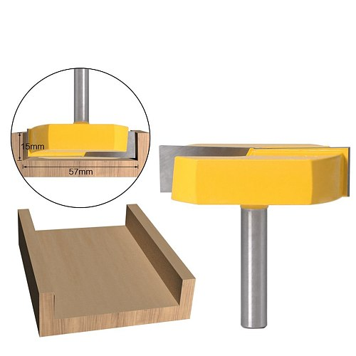 8 Mm Shank Cleaning Bottom Milling Cutting Diameter For Surface Planing Router Bit Trimming Milling Cutter Wood Cutter