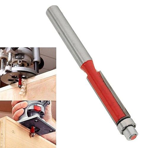 1 Pcs Flush Trim Router Bit 1/4'' Shank Carpentry Flush Trim Bit Carving Woodworking Router Bit Woodworking Tool