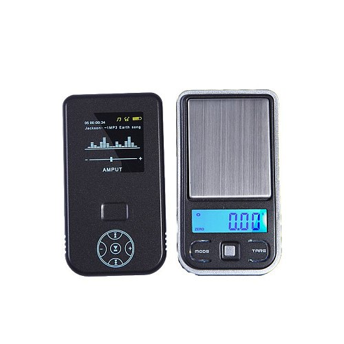 Precision pocket jewelry scale 0.001g ultra-thin compact portable mini electronic scale balance high precision gram weight