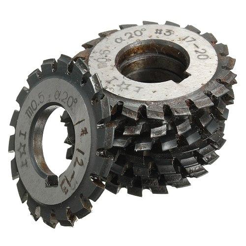 Module 0.5 M0.5 PA20 Degrees Bore 16mm #1-8 HSS Involute Gear Milling Cutter Gear Cutting Tools Milling Cutter High Speed Steel
