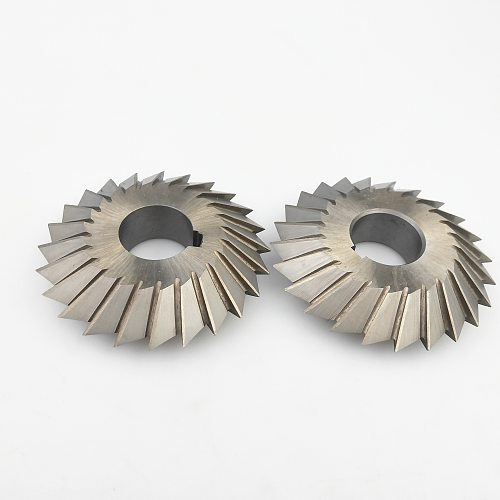 HSS High-speed steel double-angle milling cutter 45/60/90 degrees