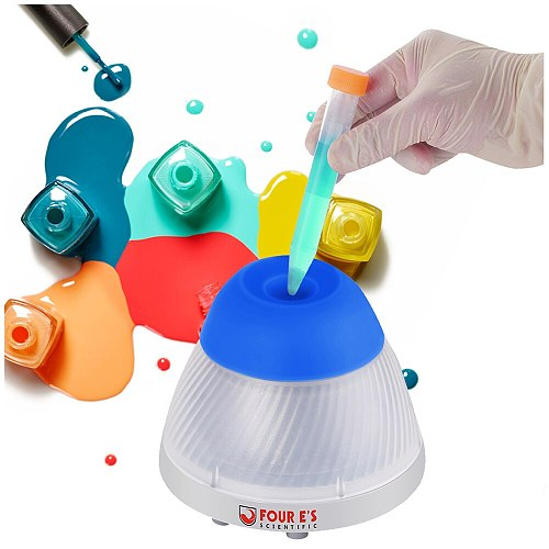 Vortex Stirrer Four e's  Vortex Mixer Mini 3000 RPM Orbit 5.5mm Tattoo Paint Ink Vortex Mixer Shaker 100-240V EU Plug