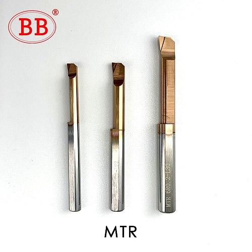 BB Carbide Lathe Boring Cutter Coated Mini Internal Turing Tool Copying Small Hole MTR MQR MUR MPR MKR 2mm 3mm 4mm 5mm 6mm