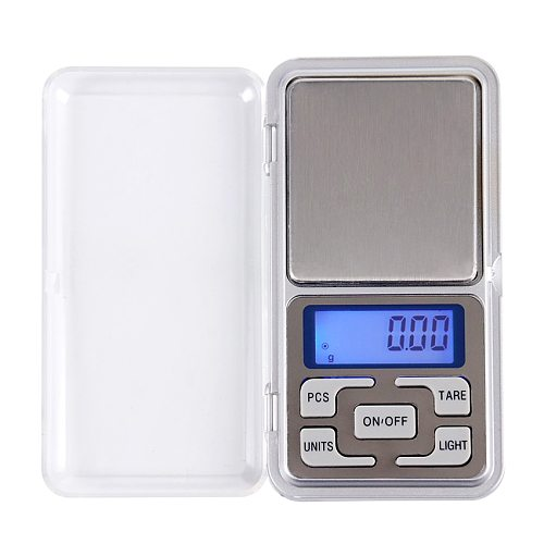 1PC Digital Precision Electronic Weight Pocket Scales 500g/0.01g Libra Medicine Jewelry Gram Weight Laboratory Balance Scales