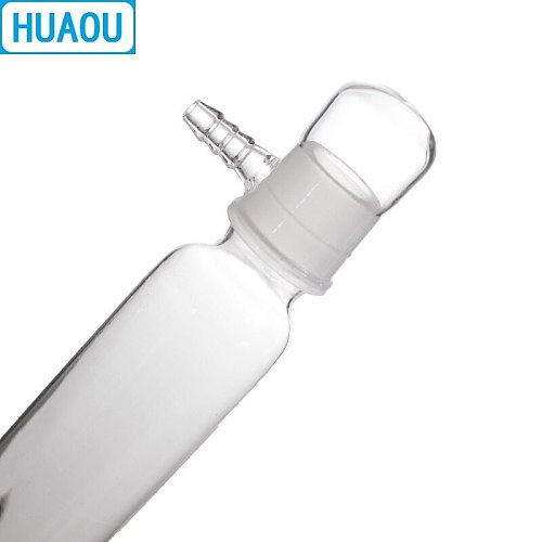 HUAOU 250mL Gas Drying Tower Clear Glass Laboratory Drying Equipment