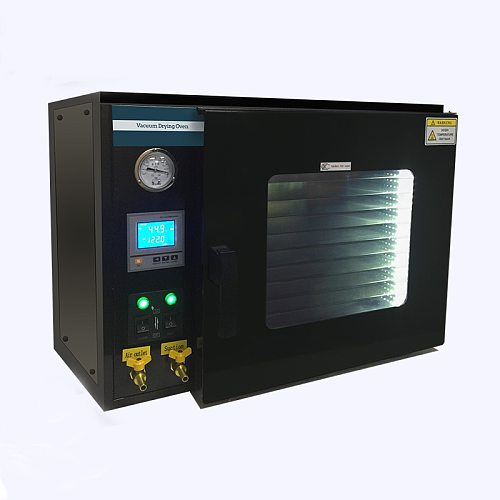 DZF-6050 Stainless Steel Digital Display 10-Shelves 110V /220V 0.9 Cu Ft Lab Digital 55L Electrical Vacuum Drying Oven