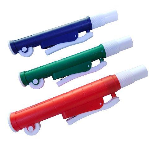BDJK Pipette Aid Fast Release Pipette Pump Manual Pipettor Pump Use With Graduated Transfer Pipette VOL.2 ml/10ml/25ml