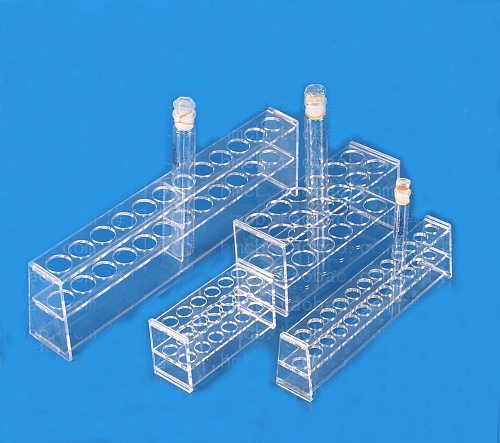 High Quality 10ml 25ml 50ml 100ml color comparison tube rack colorimeter tube stand 6 and 12 holes single and double layers