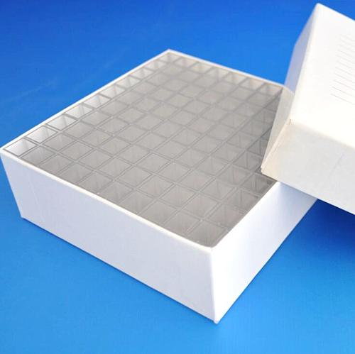 Box of 100pcs 1.5ml Semimicro Square Plastic Test Tubes vials  container craft cuvette Lab Kit Tools