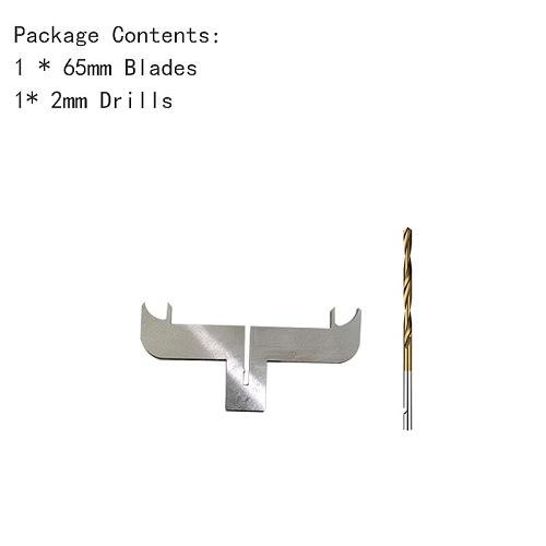 Bracelet Drill Bit Carbide Blades handle Drill Woodworking Milling Cutter Molding Tool 55/60/65mm