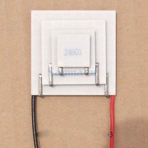 15x20x30x40mm 3A 14.6V 6.8W TEC4-24603 Thermoelectric Cooler Peltier Heatsink