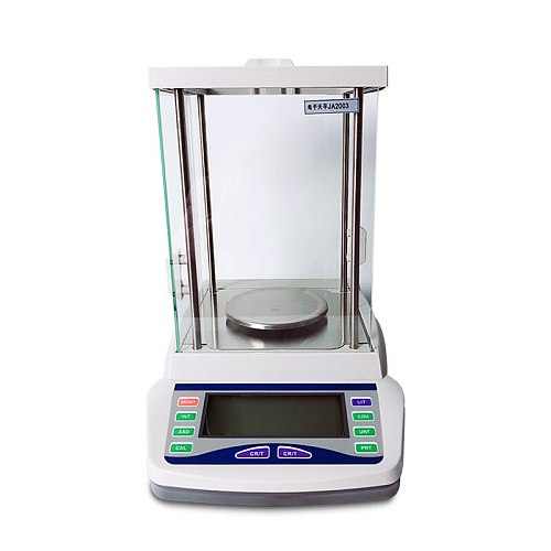 Lab 200 x 0.001 g 1mg Lab Analytical Balance Digital Electronic Precision Weight Scale with Auto Calibration Function