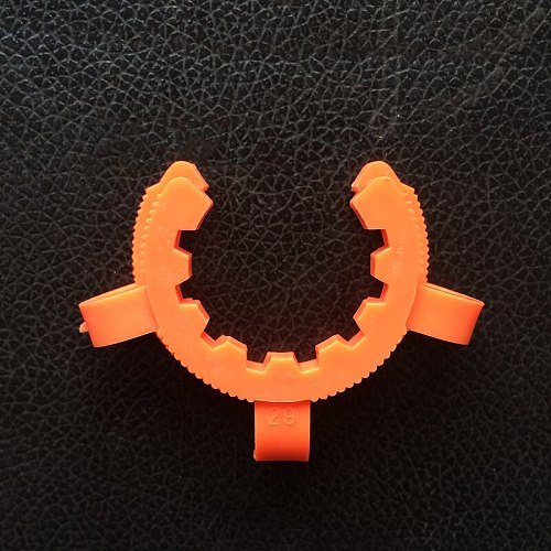 10pcs Plastic standard ground mouth clip,Caliber 10#12#14#19#24#29#34#40#45#,Laboratory Clamp,Ground clip