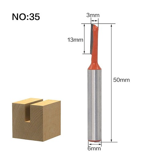 1pc 6mm Shank Trimmer Cleaning Flush Trim Wood Router Bit Dovetail Milling Cutters Woodworking Tools Cutters For Wood