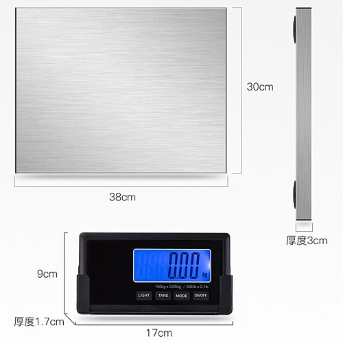 Long Association CX180kg wireless package weighing parcel weighing accuracy 100g weight scale split scale parcel express platfor