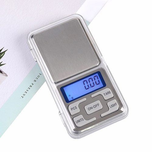 1PC 500g 0.01g Digital Precision Laboratory Balance Scales Pocket Jewelry Scales Portable Digital Lab Weight Electronic Scales