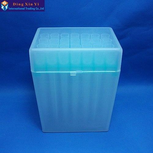 Plastic Pipette box 28vents box + 28pcs 5000ul 5ml pipette tips for Dragonlab pipettors