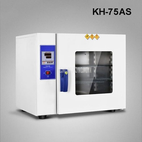 KH-75AS 2.5KW Digital Electric Constant Temperature Drying Oven Industrial Medicine Blower Drying Oven Inner Stainless Steel