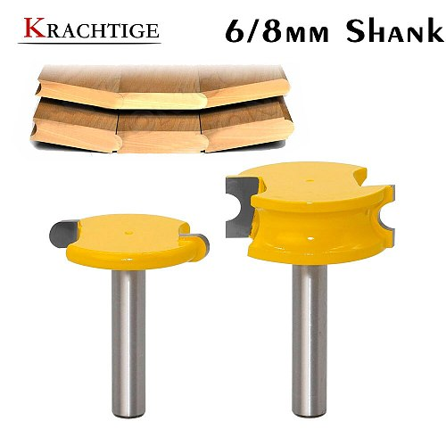 Krachtige 8mm Shank 2 pcs Canoe Flute and Bead Router Bit set Woodworking Cutting Tools