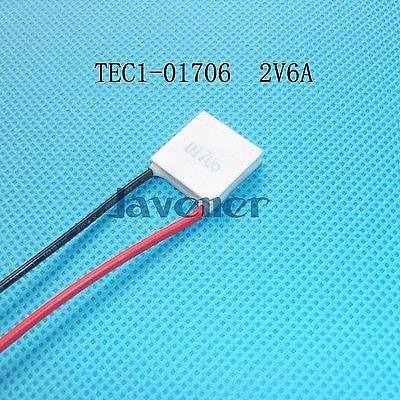 TEC1-01706 Heatsink Thermoelectric Cooler Peltier Cooling Plate 15x15mm Refrigeration Module
