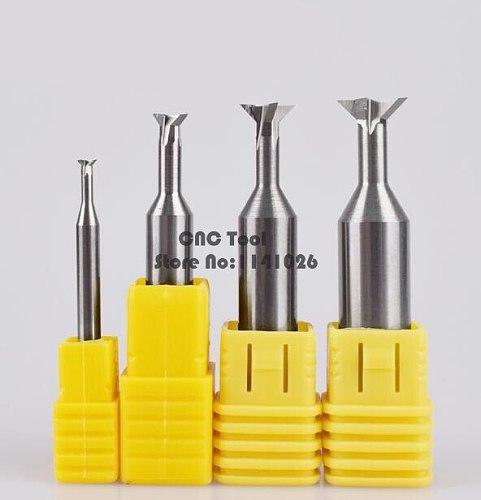 1PCS 45 Degree/60 Degree/75 Degree carbide Dovetail Milling Cutters 3mm 4mm 5mm 6mm 7mm 8mm 9mm 10mm 11mm 12mm 16mm 20mm