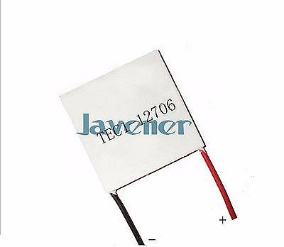 40x40mm TEC1-12706 Heatsink Thermoelectric Cooler Peltier Cooling Plate Refrigeration Module