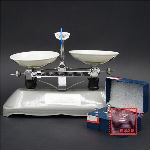 Tray Balance with The Balance of 100 G with The Balance of Drug Testing Equipment Chemical Laboratory Equipment