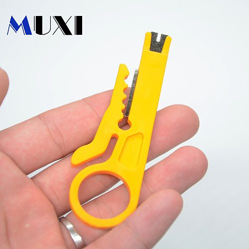 1Pcs Mini Simple and Practical UTP STP Network Plier Size 9cm Cable Wire Stripping Knife