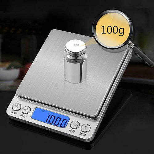 200g/0.01g English shows Electronic balance, Digital Scale, multifunctional scale
