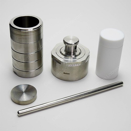 50ml,PTFE Lined Hydrothermal Synthesis Reactor,Stainless Steel Digestion Vessel