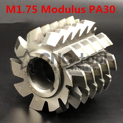 M1.75 Modulus PA30 degrees HSS Involute Gear hob 55x50x22mm Gear cutting tools Free shipping