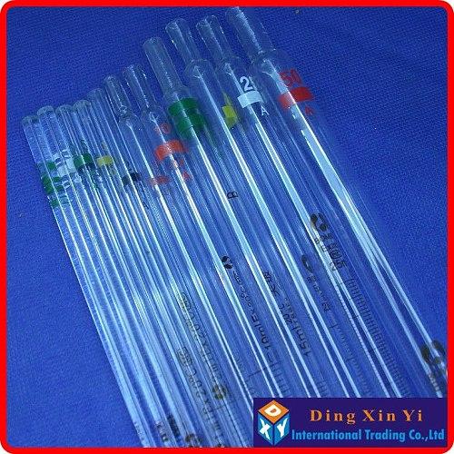 (5 pieces/lot) resolution 0.001ml measuring Pipette 0.1ml Glass burette, 0.1ml graduated pipette