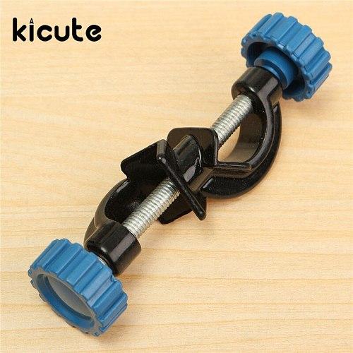 KiCute Right Angle Clip Lab Cross Clamp Laboratory Metal Grip Support Lab Clamp Angular Splint Stand Boss Head Metal Holder