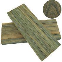Handmade wood material Guaiacumofficimale guajacwood pockwood bracelet Waist card wood Knife handle material plate wood -1 piece