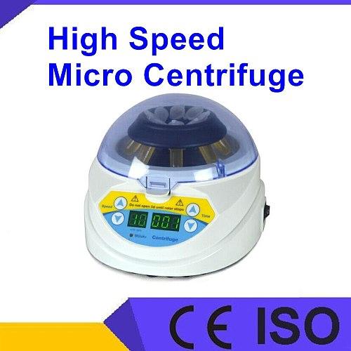 10KMini Centrifuge Micro Centrifuge 10000rpm 0.5ml 1.5ml 2ml tube