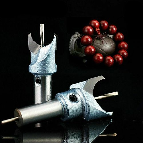 6mm-30mm Wood Milling Cutter Router Bit Wooden Buddha Beads Drill Bits Knife Woodworking Grinding Tools for Machine Accessories