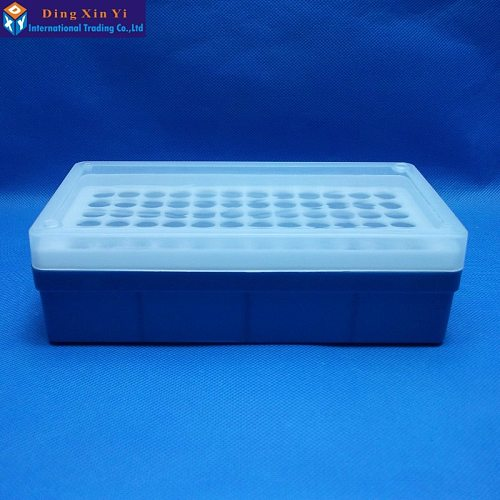 Free shipping 1.5ML/2ML  72vents laboratory Plastic box for Centrifuge Tubes with cover