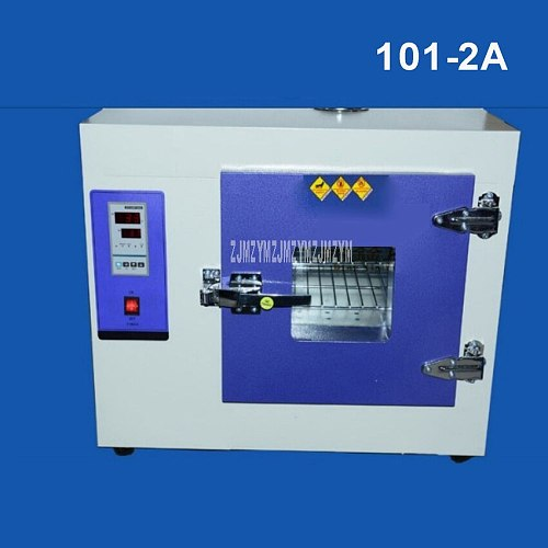 101-2A 1.6-2.4KW Digital Electric Constant Temperature Drying Oven Industrial Medicine Blower Drying Oven Inner Galvanized Steel